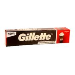 GILLETTE SHAVING CREAM REGULAR 70G