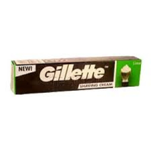 GILLETTE SHAVING CREAM LIME 70G