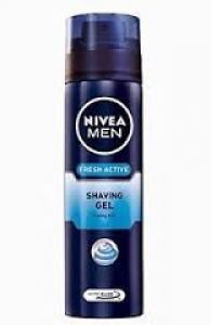 NIVEA MEN SHAVING GEL FRESH ACTIVE 200ML