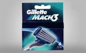 GILLETTE MACH 3 CART 4