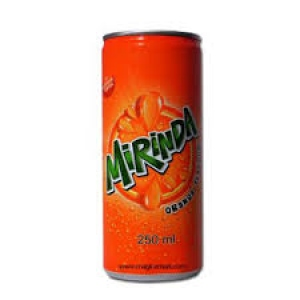 PEPSI MIRINDA ORANGE CAN 250ML