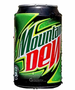 PEPSI MOUNTAIN DEW CAN 250ML