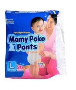 MAMY POKO PANTS  L (9-14KG) 20PCS