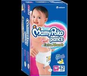 MAMY POKO PANTS M(7-12KG) 42PCS