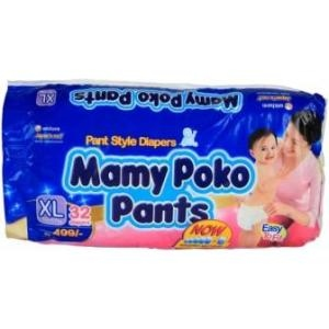 MAMY POKO PANTS XL (12-17KG) 32PCS