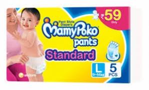 MAMY POKO PANTS STANDARD L (9-14KG) 5PCS