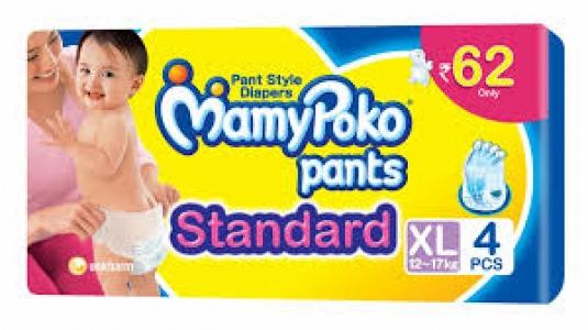 MAMYPOKO PANTS STANDARD XL(12-17KG) 4PCS