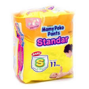 MAMY POKO PANTS STANDARD S (4-8KG) 11 PCS