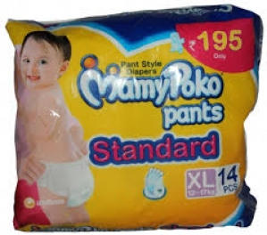 MAMY POKO PANTS STANDARD XL (12-17KG) 14PCS