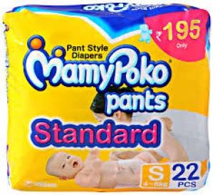 MAMY POKO PANTS STANDARD S (4-8KG) 22PCS