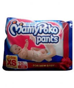 MAMY POKO PANTS XS (3-5KG) 10PCS