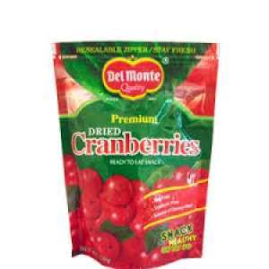 DEL MONTE DRIED CRANBERRIES 130G