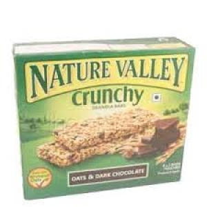 NATURE VALLEY CRUNCHY OATS & DARK CHOCO 252G