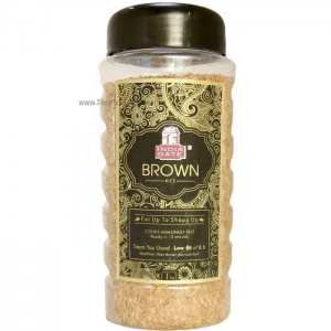 INDIA GATE BROWN RICE JAR 1KG