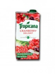TROPICANA CRANBERRY DELIGHT 1LTR
