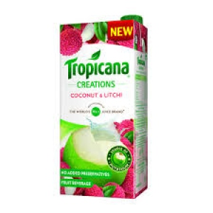 TROPICANA CREATIONS COCONUT LITCHI 1LTR
