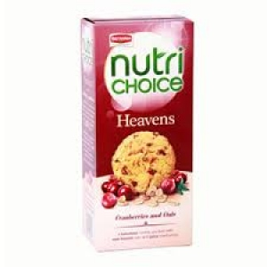 BRITANNIA NUTRI CHOICE HEAVENS CRANBERRIES 100G