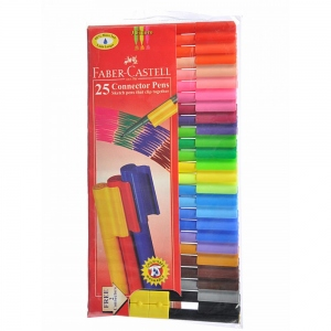 FABER-CASTELL 25 CONNECTOR PENS