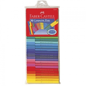 FABER-CASTELL 30 CONNECTOR PENS
