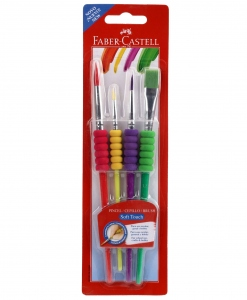 FABER-CASTELL SOFT TOUCH BRUSHES