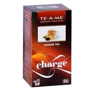 TE-A-ME GINGER TEA 25 TEA BAGS