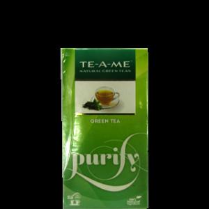 TE-A-ME GREEN TEA 25 TEA BAGS