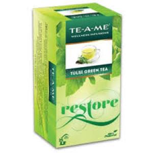 TE-A-ME TULSI GREEN TEA 25 TEA BAGS