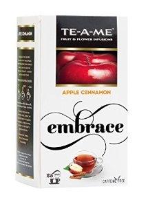 TE-A-ME APPLE CINNAMON TEA 25 TEA BAGS