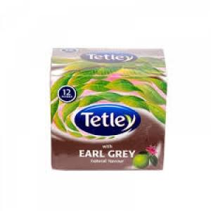 TETLEY EARL GREY  12 TEA BAGS