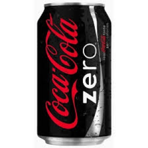 COKE COCA-COLA ZERO CAN 300ML