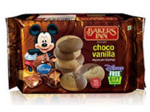 BAKERS INN CHOCO VANILLA COOKIES 200G