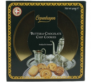 COPENHAGEN BUTTER CHOCO CHIP COOKIES 400G