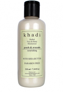 KHADI NATURAL PEACH & AVACADO BODY BUTTER 100G