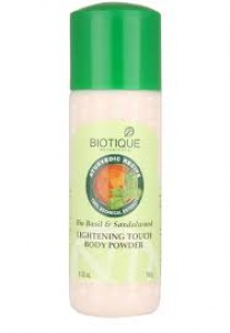BIOTIQUE BIO BASIL & SANDALWOOD BODY POWDER 180G