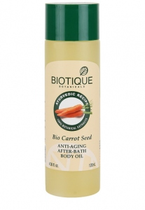BIOTIQUE BIO CARROT SEED BODY OIL 120ML