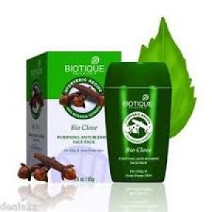 BIOTIQUE BIO CLOVE FACE PACK 85G