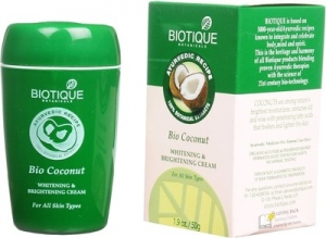 BIOTIQUE BIO COCONUT W & B CREAM 50G