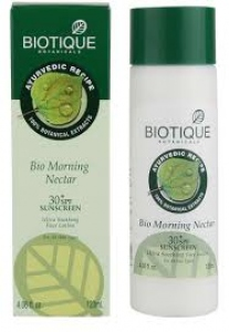 BIOTIQUE BIO MORNING NECTAR L & N LOTION 120ML