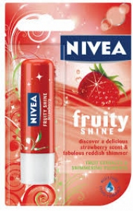 NIVEA LIP FRUITY SHINE STRAWBERRY 4.8G