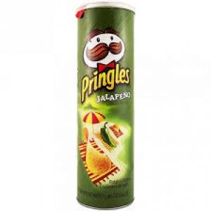 PRINGLES JALAPENO 169G