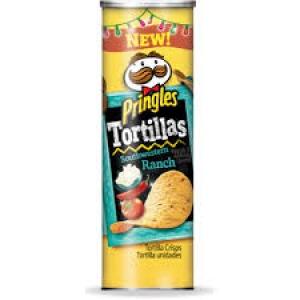 PRINGLES TORTILLAS SOUTHWESTERN RANCH 169G