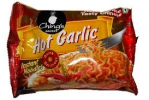 CHING`S HOT GARLIC NOODLES 75GM