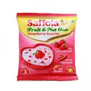 SAFFOLA FRUIT & NUTS OATS STRAWBERRY SURPRISE 30G