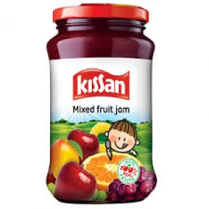 KISSAN MIXED FRUIT JAM 200G +KETCHUP FREE