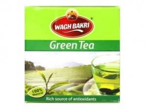 WAGH BAKRI GREEN TEA 100G