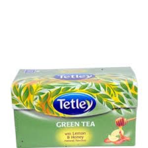 TETLEY GREEN TEA LEMON & HONEY 10 BAGS