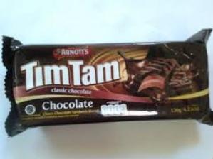 ARNOTT`S TIMTAM CLASSIC CHOCOLATE BISCUITS 120G.