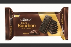 PARLE HIDE & SEEK BLACK BOURBON CHOCO 100G