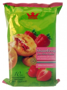 TATAWA COOKIES STRAWBERRY 120G