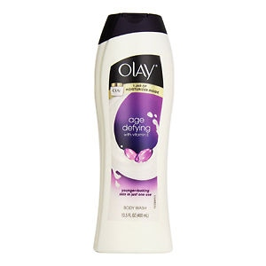 OLAY AGE DEFYING BODY WASH 400ML